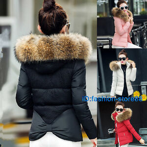 2019-women-ladies-quilted-winter-coat-puffer-fur-collar-hooded-jacket-parka-down