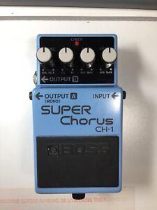 CréAtif Boss Ch-1 Chorus Effet Guitare Pédale-afficher Le Titre D'origine