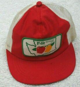 Ram-F-amp-R-Orchards-Inc-Vintage-Baseball-Hat-Adult-Mens-Cap-Snapback-Polyester-USA