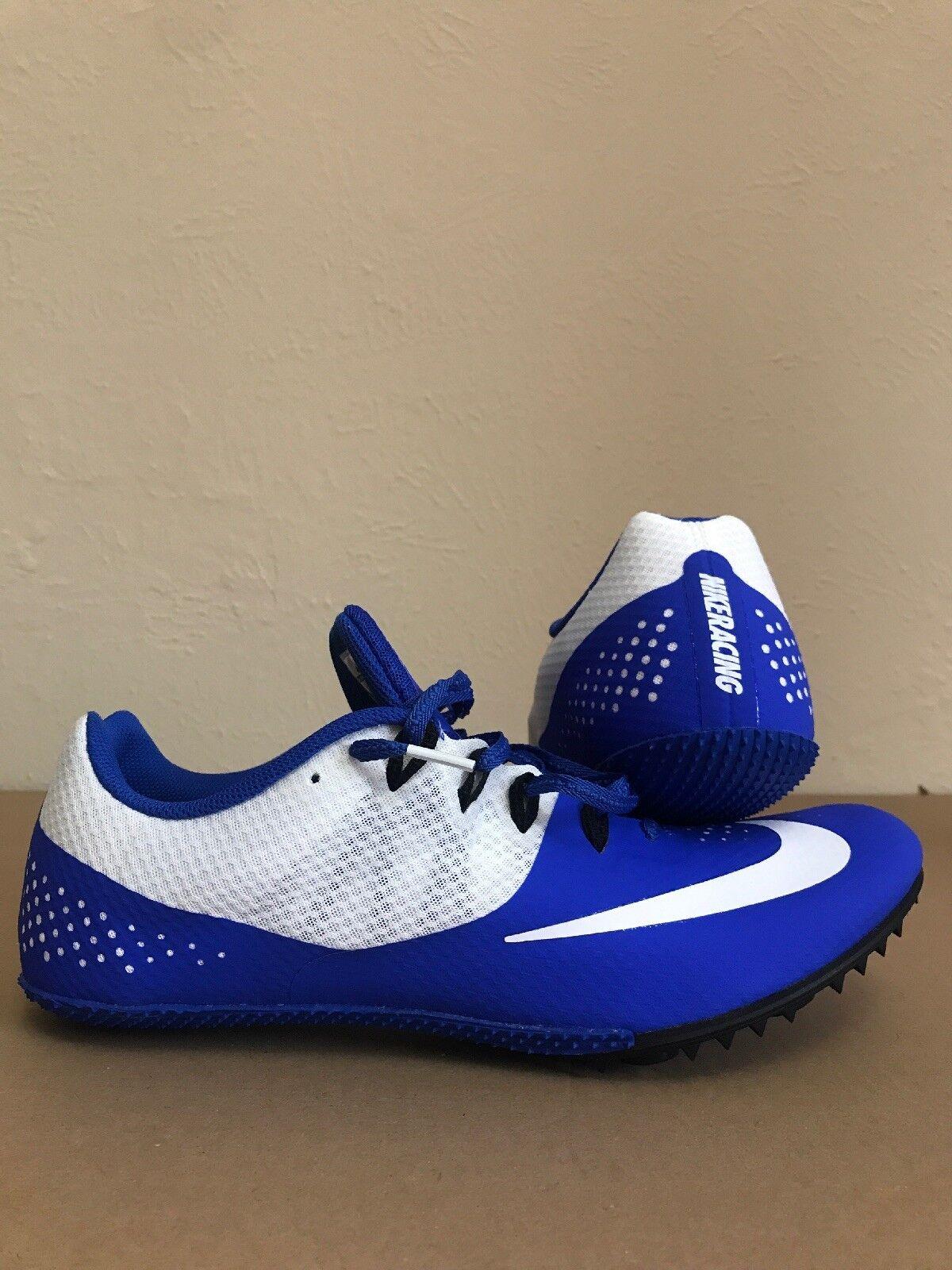 nike zoom rivale s mens pista pista pista campo spuntoni sprint scarpe blu uomo 10,5 960aa1