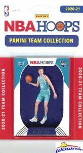 Charlotte Hornets 2020/21 Panini Hoops NBA EXCLUSIVE Team Set-LAMELO BALL ROOKIE