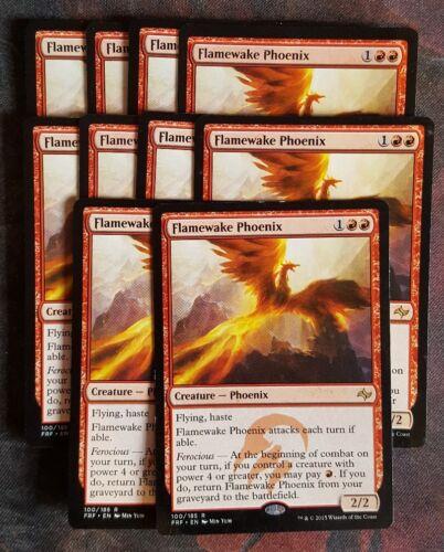 Mtg flamewake phoenix  x 1 great condition