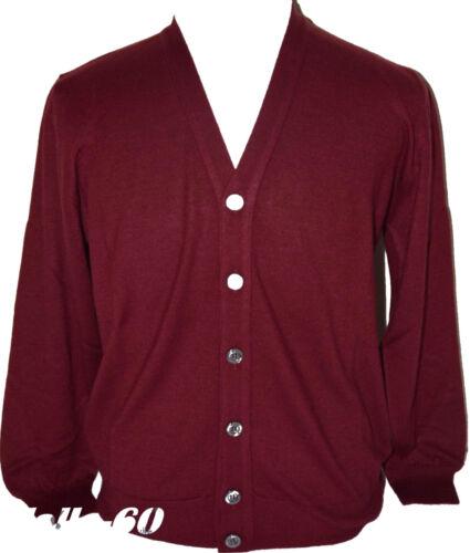 MEN/'S SWEATER wool merino 3XL 4XL 5XL 6XL Jacket cardigan burgundy PLUS SIZES