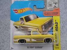 Hot Wheels 2014 #136/250 1983 CHEVY SILVERADO yellow HW OFF-ROAD