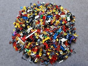 100-g-0-1-kg-LEGO-Personnages-Accessoires-Minifig-City-systeme-Adventure-police