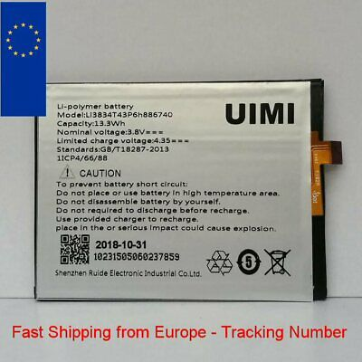 New Battery for UMI EMAX / IRON Li3834T43P6h886740 - Fast Shipping from Europe