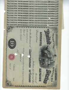 UNITED-STATES-TAX-DOCUMENTS-1874-1876-WITH-FULL-STUBS-LOT-3-PCS-EF