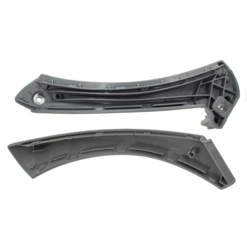 Inner Outer Door Panel Handle Pull Trim Cover for BMW E90 328i Right Side Gray