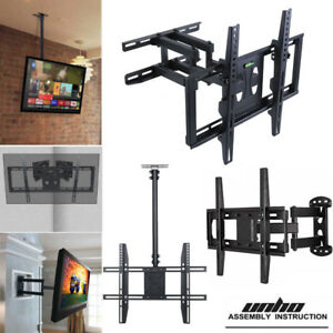 Nice TV Wall Mount Bracket Universal Rotating Telescopic LCD Monitor TV Rack Top