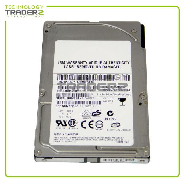 "ST936701SS Seagate Savvio 36GB 10K SAS 2.5"" Hard Drive * Pulled *"