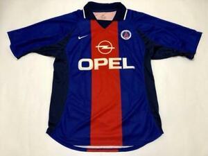 Maillot PSG Paris Saint-Germain jersey nike shirt Opel vintage 2000 2001 M