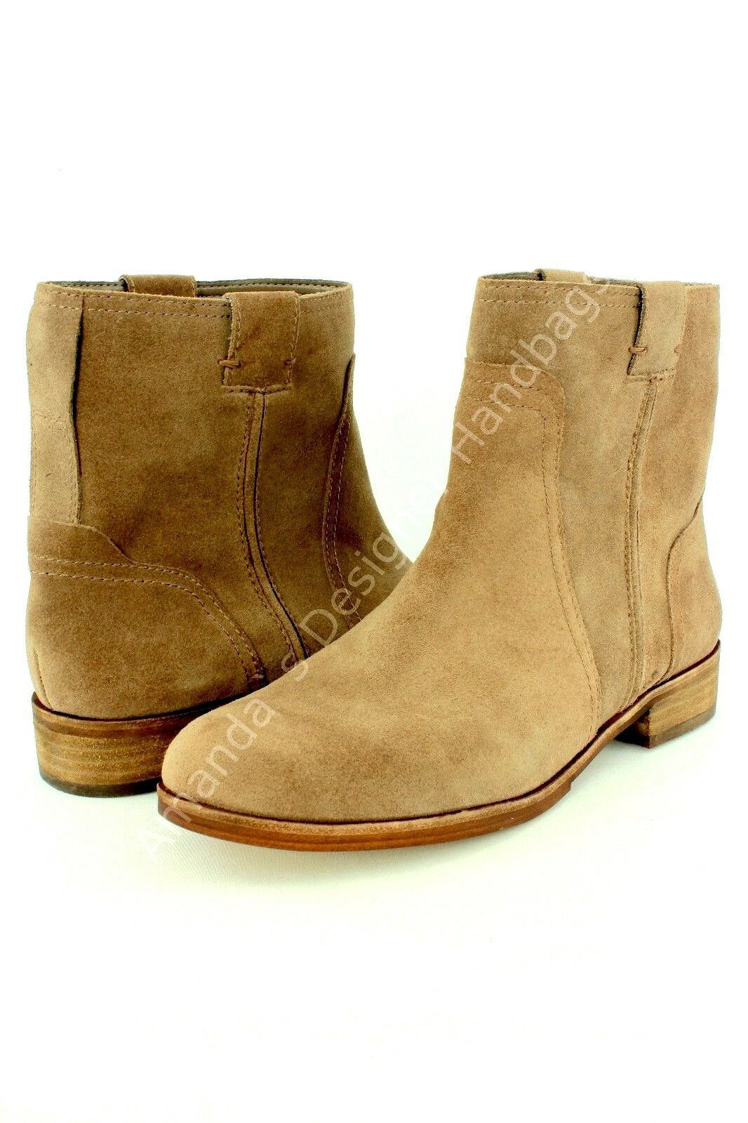 VINCE CAMUTO Womens VC-Ruty Brown Short Boots US 9.5M