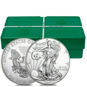 Monster Box Of 500 2019 1 Oz Silver American Eagle 1