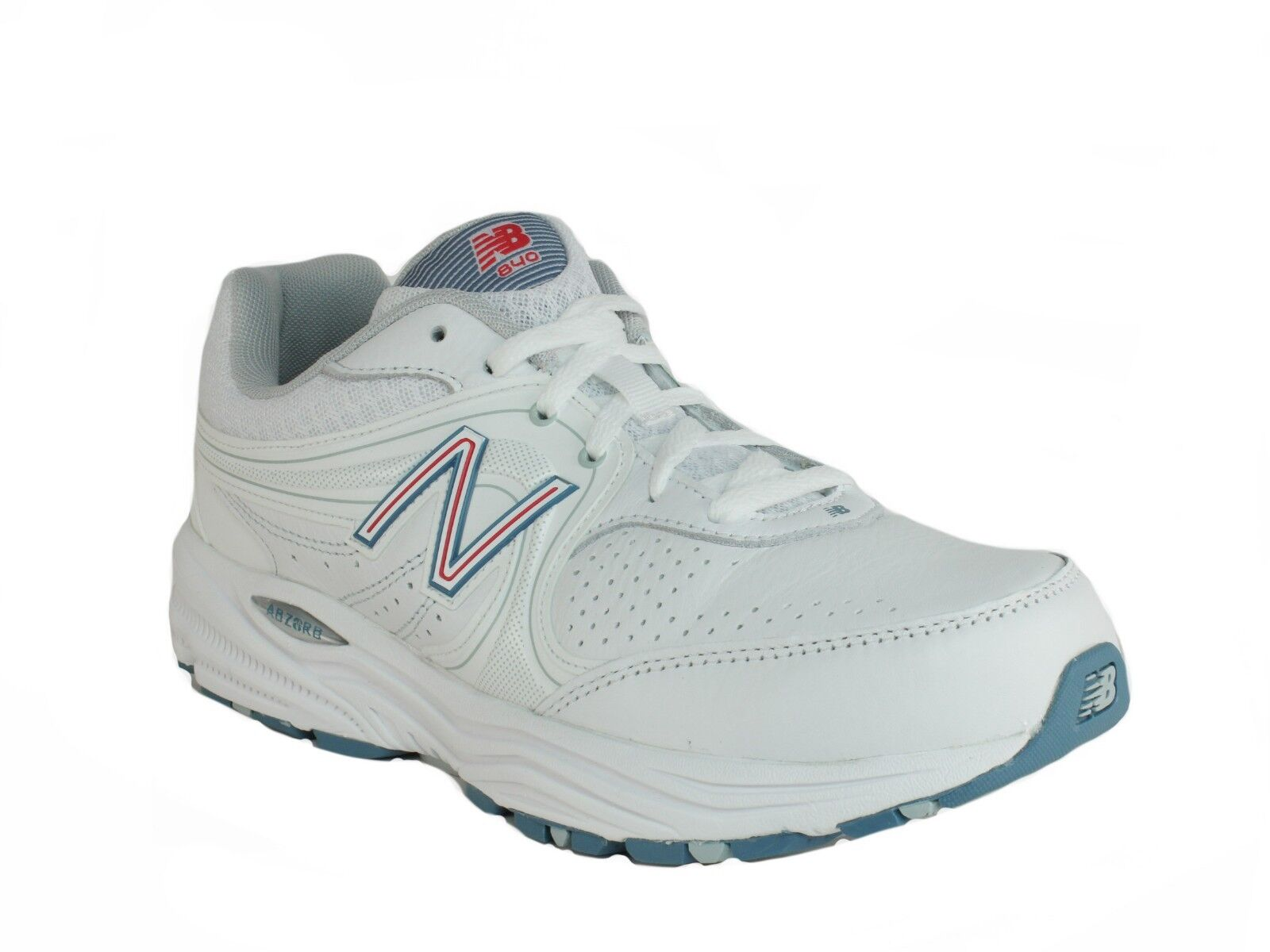 New Balance Womens WW840WP  Health Walking Shoe Sneakers White Leather