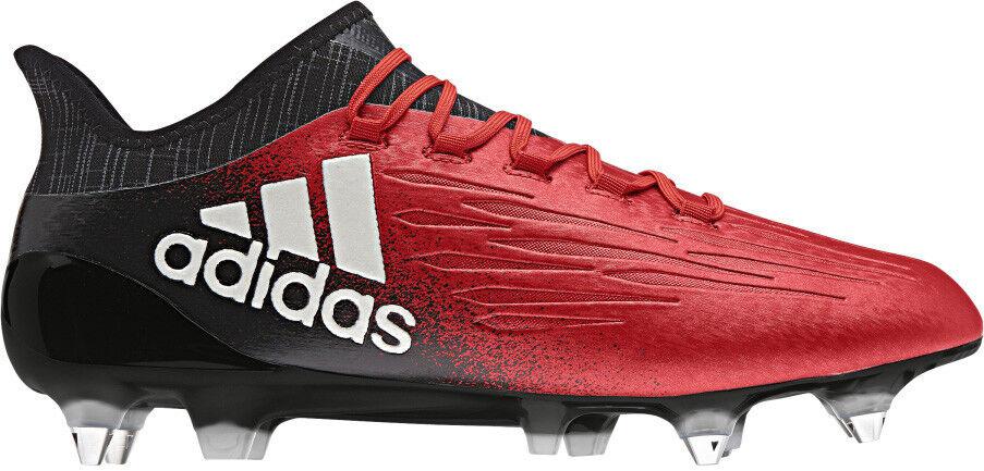 Adidas X 16.1 terreno blando para Hombre botas De Fútbol-Rojo