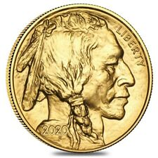 2020 1 oz Gold American Buffalo $50 Coin BU