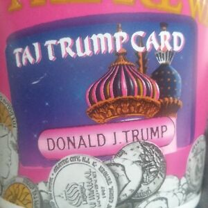 90s-Trump-Taj-Mahal-Casino-Slot-Token-Coin-Cup-Atlantic-City-Rare-Collectible