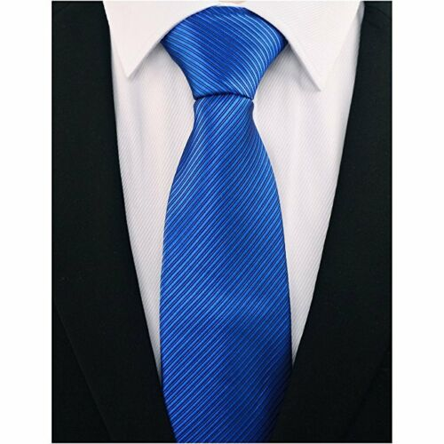 New Fashion Classic Striped Tie JACQUARD WOVEN Men/'s Silk Suits Ties Necktie