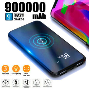 900000mAh-Qi-Power-Bank-Wireless-External-Battery-Portable-Charger-Ultra-thin