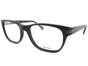 f8e9cc2a54 POLICE Men s Metromover 2 Spectacles Glasses Frame Satin Black 51mm ...