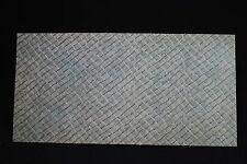 V942 FALLER Train Maquette 552/D3 Planche carton route imitation pave 25*12,5 cm