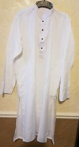 672b07655e Image is loading Mens-Shalwar-Kameez-White-Indian-Pakistani-Salwar-suit-