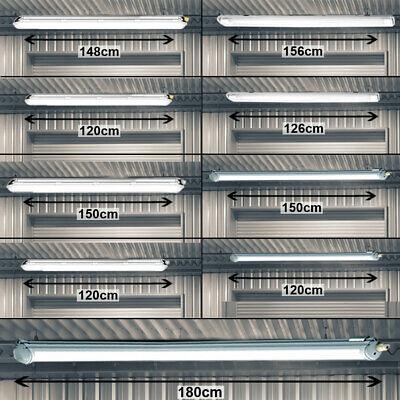 Decken LED Industrie Lager Halle Werkstatt Wannen Leuchte Feuchtraum Büro IP65