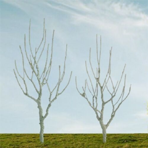4//pk MP Scenery Products 70232 N Scale Mountain Gum Bare Trees 2/""