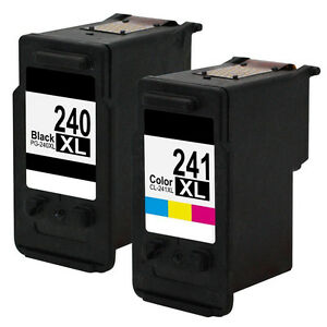 2pk PG 240XL CL 241XL Ink Cartridge For Canon Pixma MG2220 MG3620 5206B001 MX532