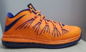 low priced a61b4 9356a Image is loading PRE-OWNED-NIKE-LEBRON-X-LOW-SIZE-9-