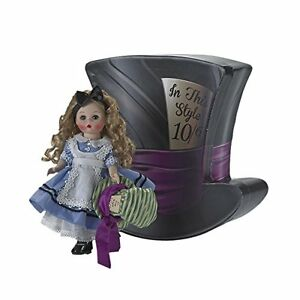 Alice-039-s-Mad-Adventure-8-039-039-Doll-in-hat-Box-by-Madame-Alexander-New