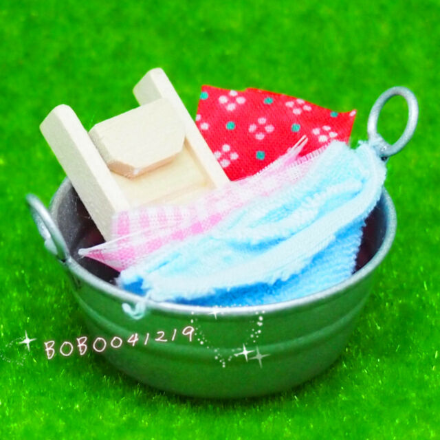 Dollhouse Miniature Soap Bucket