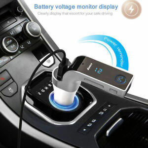 USB-Car-Bluetooth-FM-Transmitter-Wireless-Radio-Adapter-Charger-MP3-Player-New