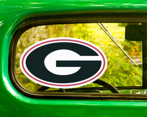 2 GEORGIA BULLDOGS COLLEGE DECALs Sticker Bogo For Car Window Free Shipping Jeep