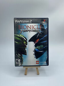 Bionicle Heroes (Sony PlayStation 2, 2006) CIB Complete PS2