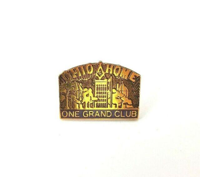 Ohio Home One Grand Club Masonic Pin
