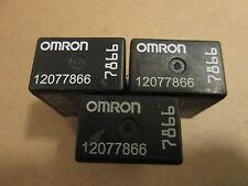 Pontiac Oldsmobile GMC & Chevy Omron Brand Relay  12077866  ((7866)) ((QTY 3))