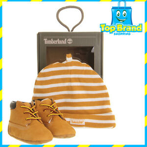Timberland-Crib-Casual-Booties-Boys-039-Infant-Wheat-Baby-Shoes-Cute
