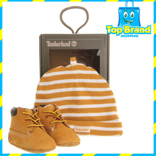 Boys/' Infant Wheat Baby Shoes Cute Timberland Crib Casual Booties