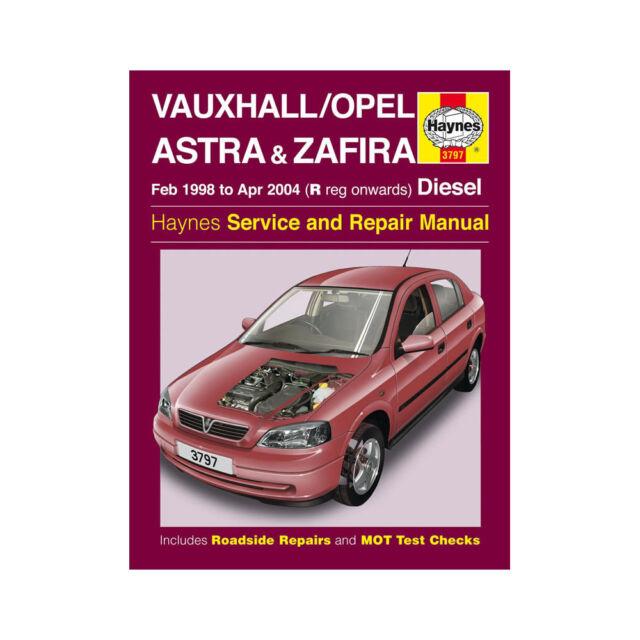manual vauxhall astra 2001