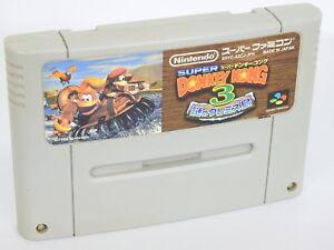 SUPER-DONKEY-KONG-3-Super-Famicom-Nintendo-Free-Shipping-sfc