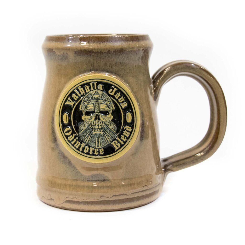 VALHALLA JAVA ODINFORCE 2017 DEATH WISH COFFEE 16 OZ VIKING MUG + BAG COFFEE