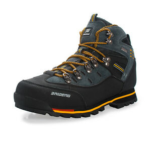 Mens-Waterproof-Trail-Hiking-Trekking-Shoes-Outdoor-Casual-Boots-Lace-Up-Sneaker