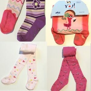 Girls Toddler Cotton ABS Tights Anti slip Socks Pants Warmers 9 Months-3 Years