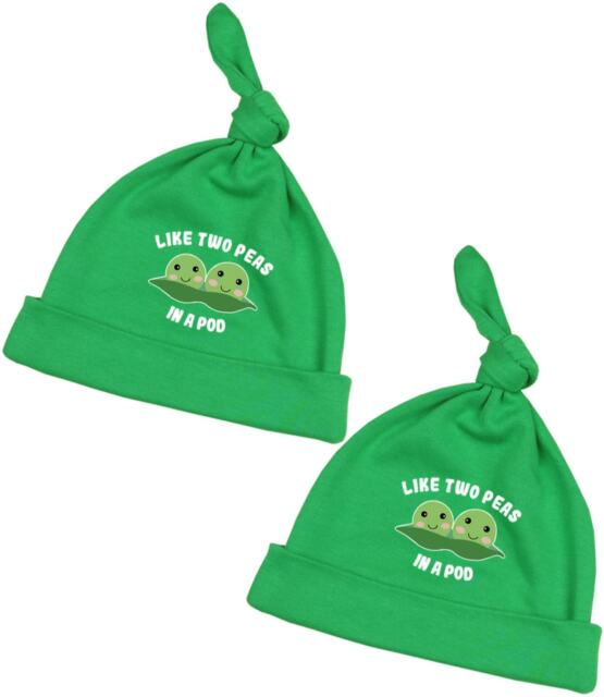 051cad541c0 BabyPrem Baby Twins Clothing Green Pack of 2 Two Peas in Pod Cotton ...