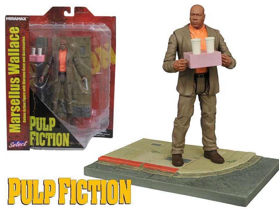 Action figure Pulp Fiction Marsellus Wallace 18 cm cm cm Diamond Select toys 160b64
