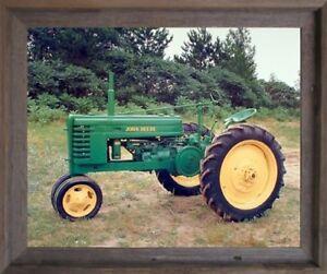 Image Is Loading 1939 John Deere Vintage Tractor Wall Decor Barnwood