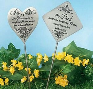 "Solar Lighted Bluebird Memorial /""Mothers Day/"" Garden Stake Sculpture"