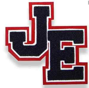 image is loading letterman letter jacket 2 letter staggered chenille varsity