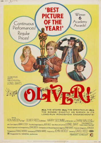 POSTER FILM A4 A3 A2 A1 grande formato cinema film Oliver
